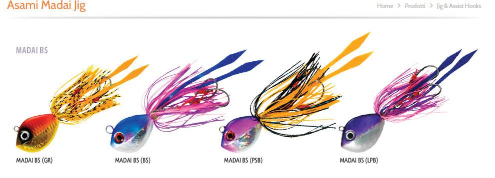 Asami Madai jig 150g