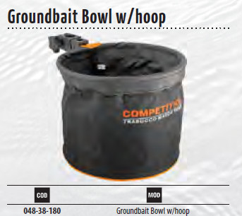 Groundbait Bowl With Hoop