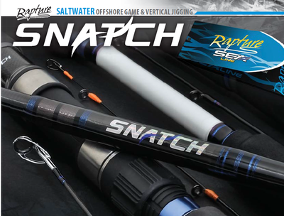 Snatch Tenya Medai 80g boat rods with sensitive solid fibreglass tip great for light tackle plaice and black bream