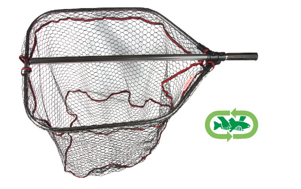 Agressor rubber net  foldable in two with  click fit   2 sizes available 00447
