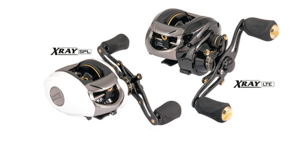 Xray LTE and SPL baitcasters  with easy cast system.