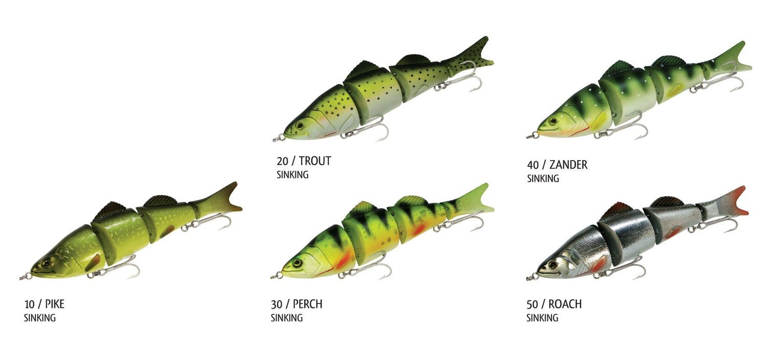 Silent Swim Swimbait 200mm 97g Slow Sinking