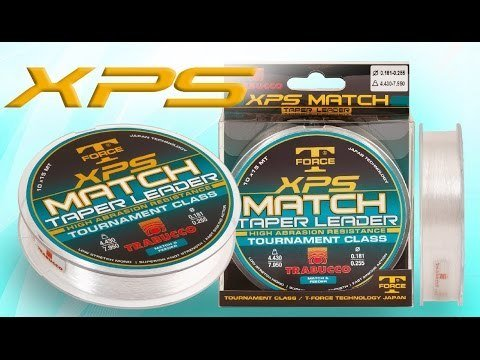 Trabucco XPS Match Tapered Leaders for feeder fishing   10 leaders 15 m long  £1.00 per leader !