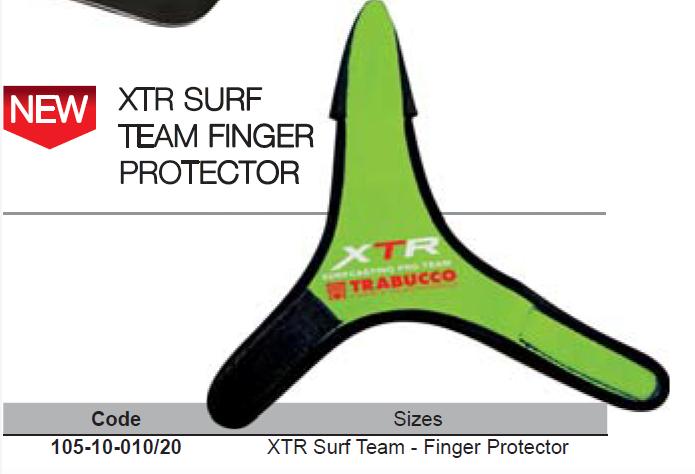 Finger protector for surf casting XPS surf 00016
