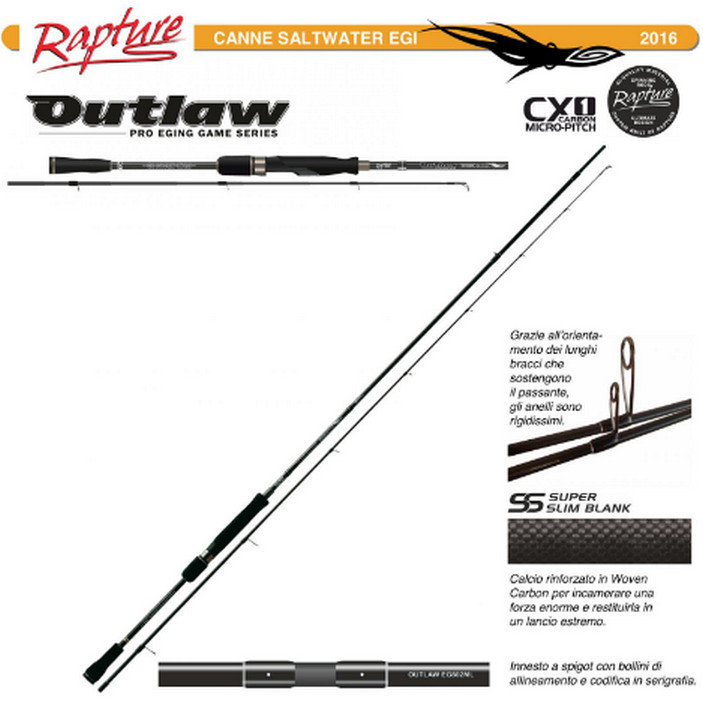 OUTLAW  EGING MICRO PITCH 2562 ML 00491
