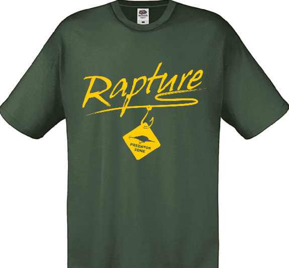 Rapture T shirts  3 colours  delivery 2/3 weeks 00501