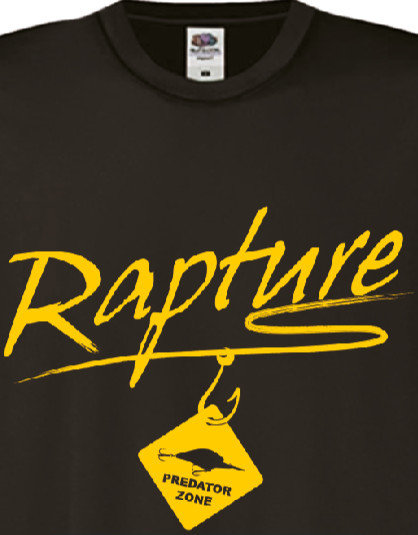 Rapture T shirts  3 colours  delivery 2/3 weeks