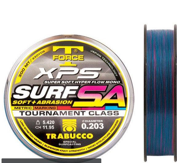 SURF SA MARK SYSTEM 300 m hi abrasion surf casting line   fluorocarbon  coated