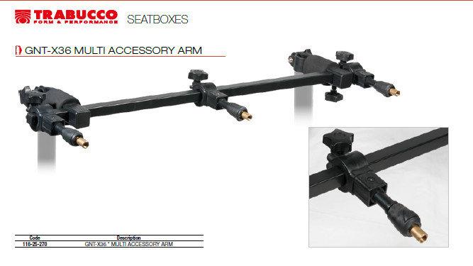 multi accessory arm