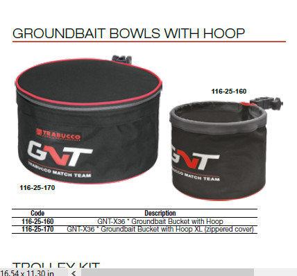 Ground bait bowls GNT  X36 00517