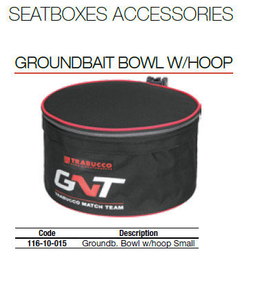 Ground bait bowls GNT  X36