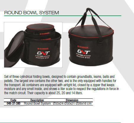 Round Bowl System 00539