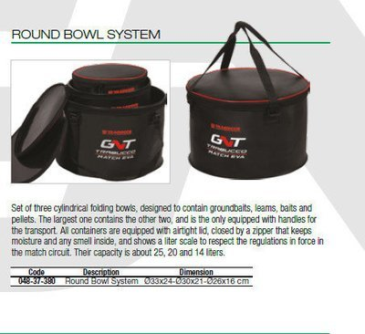 Round Bowl System
