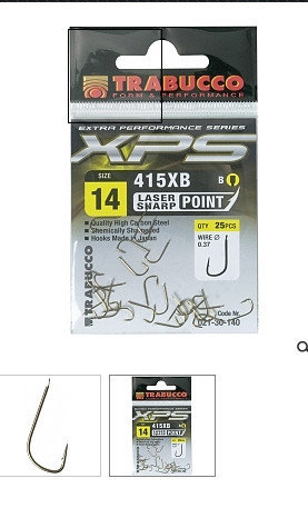 415 XB Match hook   25 per pack size 24 to 14 00550