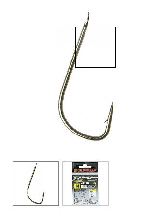 415 XB Match hook   25 per pack size 24 to 18