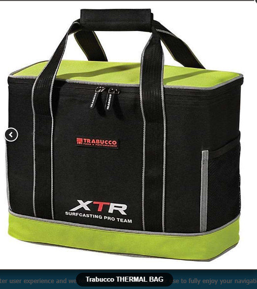 XTR surf Thermal cool bag for keeping your bait( and lunch) nice and cool ( 50% off) 00562