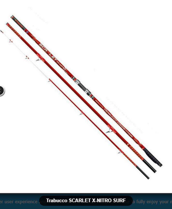 Scarlet X Nitro surf 420/450 . 200 and 250g available Fuji Alconite KWAG  NEW summer 2018