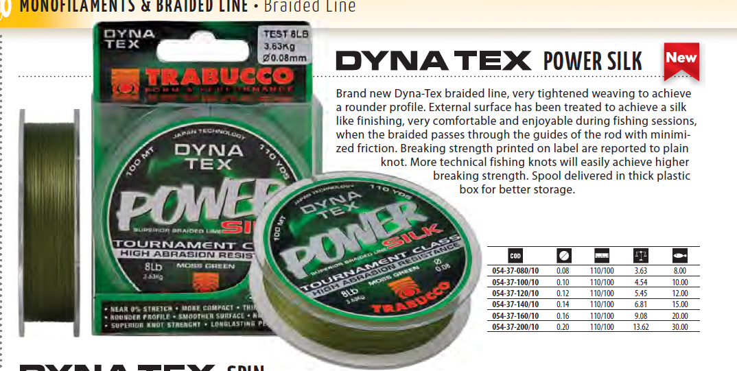 Dyna Tex power silk 00025