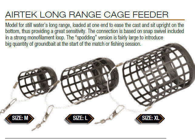 Airtek long range Cage Feeders 30g size large 30g 2 per pack