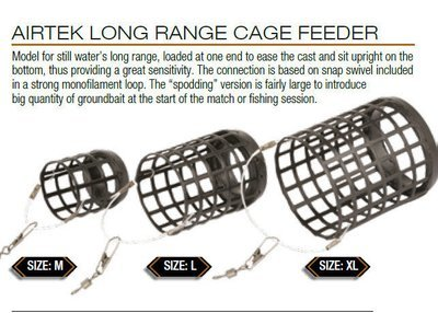 Airtek long range Cage Feeders 30g size large 30g 2 per pack