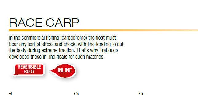 Race Carp   IN LINE REVERSIBLE CARBON FLOAT FOR MARGIN CARP new 2018