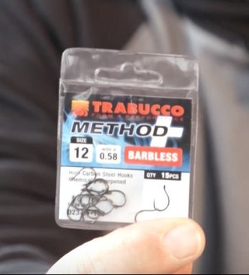 Shrinken Method hook barbless 10 12 14 16