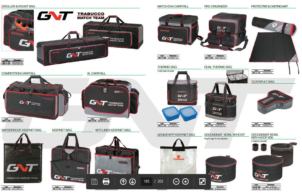 GNT Competition Carry Alls