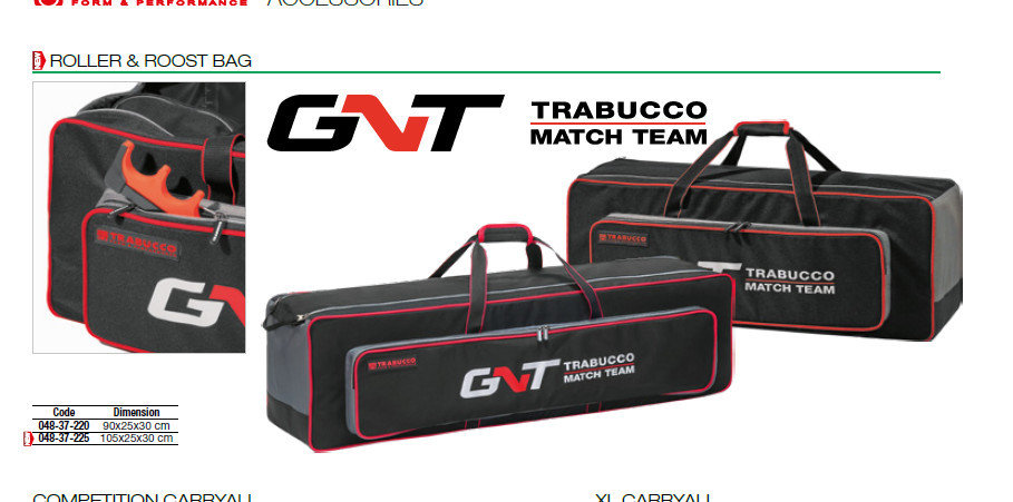 GNT Roller and Roost bags