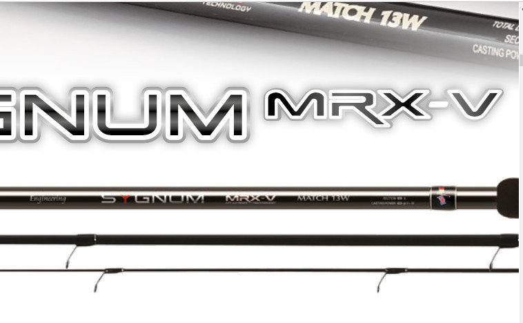 Sygnum MRX V float rod 8- 25g  3.9m 00599