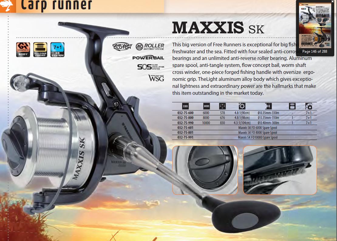 maxxis sk series Carp runner 00033