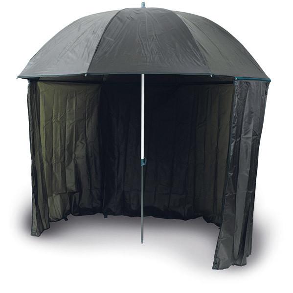 Umbrella with side cover  250 dpu   2.5m  half tent