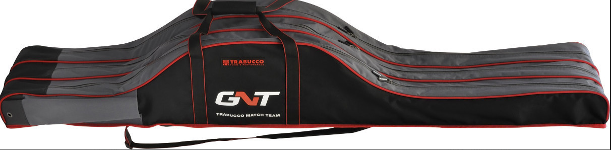 GNT MATCH ROD PRO  CARRY CASE  160X  24 X 17  CM solid base and sides