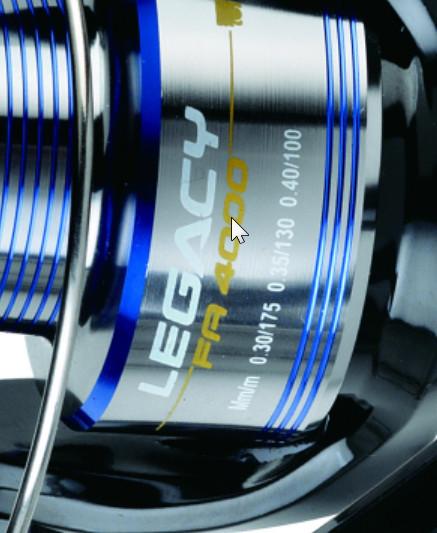 Legacy new 2015 hi performance 3 bb rear drag reel 300/4000 size
