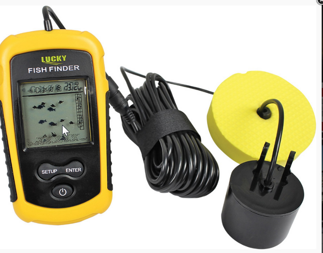 Portable fish finder from Trabucco  fixed cable