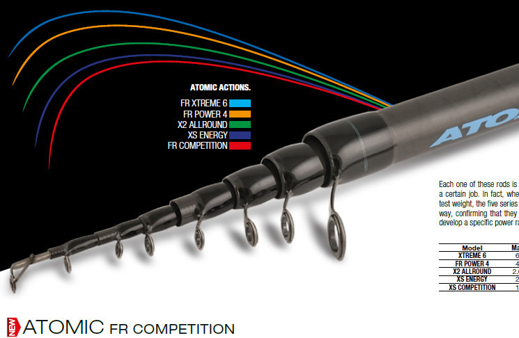 ATOMIC FR Competition 600 30g 00613