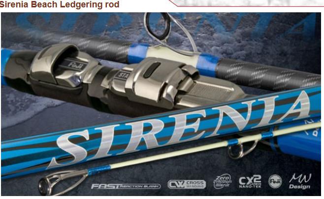 Sirenia Beach 5.00m Beach ledgering rod 100g casting weight 00062