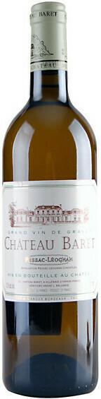 2016 Baret Blanc Pessac Leognan
