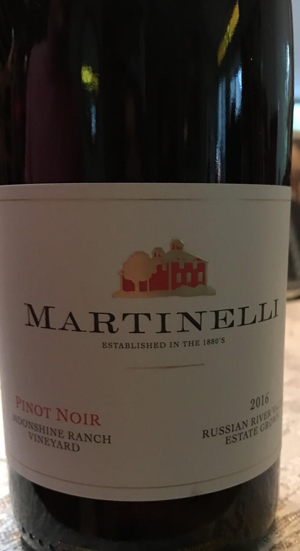 2016 Martinelli Moonshine Ranch Vineyard