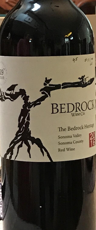 2016 Bedrock Wine Co. The Bedrock Heritage