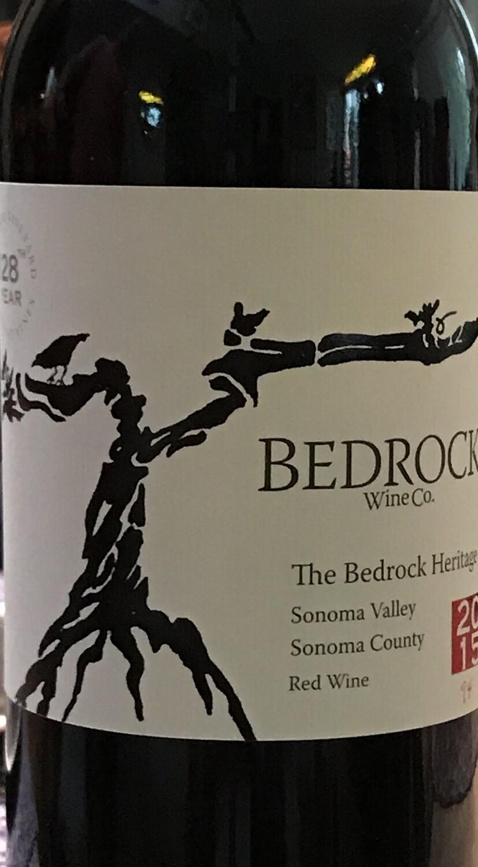 2015 Bedrock Wine Co. The Bedrock Heritage