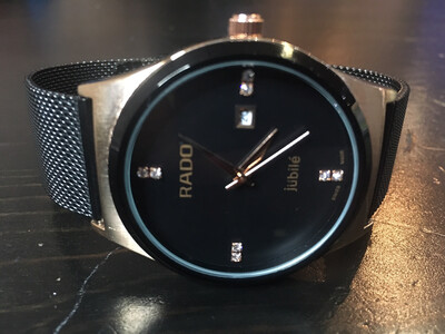 Rado quartz watch mens