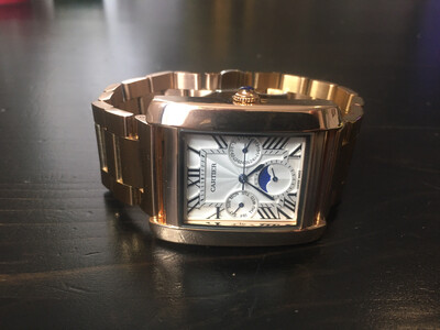 Cartier watch mens quartz, часы мужские кварцевые