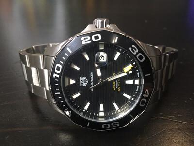 Tag Hauer Aquaracer diving watch automatic, часы для дайвинга, плавания автоматические