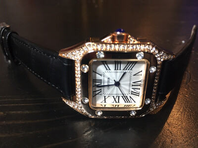 Cartier watch women quartz