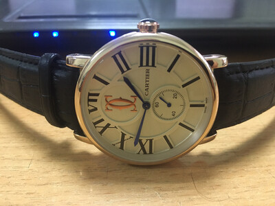 Cartier watch mens quartz