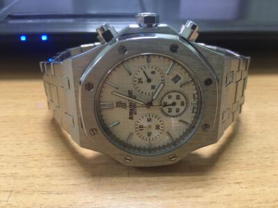 Audemars Piguet watch mens quartz chronograph, часы мужские кварцевые хронограф