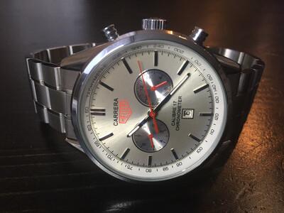 Tag Hauer Carrera calibre 17 watch mens automatic, мужские автоматические часы