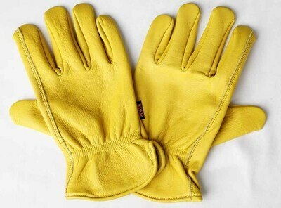 Deerhide Roper Gloves