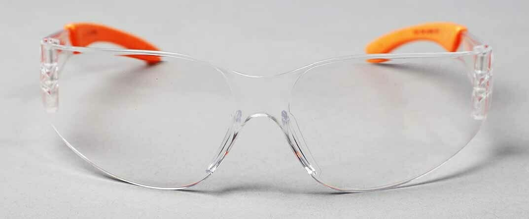 Polycarbonate Temple Safety Glasses