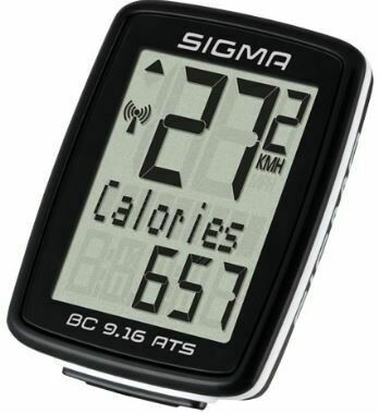 SIGMA BC-9.16 ATS 9-FUNCTION WIRELESS BIKE COMPUTER